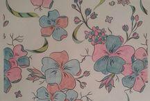 Omalovánky - flowers