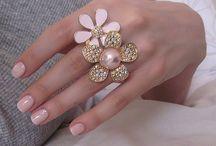 Hand Candy / Diamonds, baubles & gems.