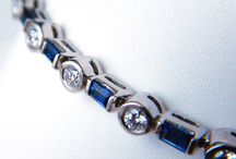 Beautiful Blue / Feeling blue about the end of summer? Indulge in September's birthstone: the Sapphire.