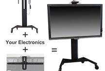 Packaged Solutions / Complete video conference or presentation systems based on our packaged solutions. Packages include a variety of stands and display mounts. Stands have pre-installed mounting points to ensure that mounts fit easily and securely.