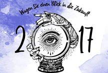 "Projekt Neujahrskarte: Ausführung ""Wahrsager"""