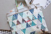 bolsas, acessórios e patchwork