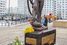 Памятник Высоцкому -Креативное виденье!