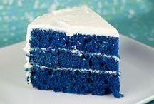 bolo massa azul