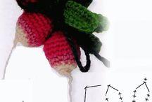 Frutta uncinetto