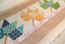Projetos para experimentar...quilting and sewing