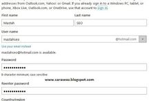 Buat Akun Microsoft – Cara Membuat Akun Hotmail / Outlook