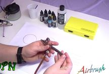 how to air brush