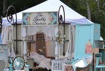 Vintage Market Display Ideas / by Laurel T. Colins