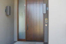 flat entry door decor