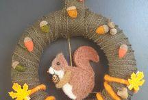 Herbst / allerlei gebasteltes, Deko, Karten, Verpackung
