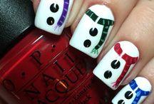 Christmas nails ⛄