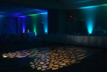Floor Washes / Custom projected washes for dance floors.