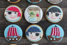 Kekse - pirate and nautic cookies, maritime cakes