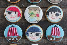 Kekse - pirate and nautic cookies, maritime cakes