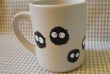 painting mug & bowl
