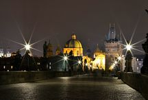 Prague at night / See the beauty of Prague after dark...