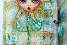 art journal ideas / Art Journal Inspiration and samples.