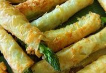 asparagus in phyllo