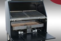 Commercial Charcoal BBQs