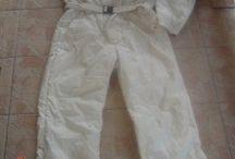 Retro snow suit