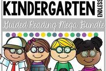 guided reading kinder reading megabundle