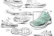 Sneaker Sketching