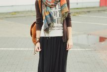 Long Skirt Ideas / Clothes Style / by Lisa Messuri Fine-Muth