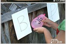 Outdoor homeschooling