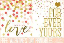Valentine's Day - Printables