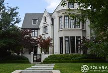 Residential Projects / Beautiful homes with Solara's Iron works installed