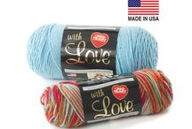 Red Heart Basics Yarns / Red Heart is one of the most widely-recognized brands among yarn users, and we're proud of the fact that many of our yarns are made right here in the USA. Take a few minutes to explore the various basic yarns we make—we just know that at least one of them is among your favorites.