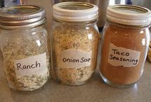 Homemade Mixes, Condiments, etc. / by GoodGolly Ms. Molly
