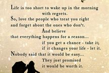 Thoughts & sayings