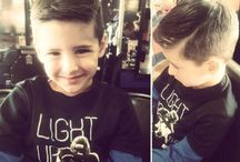 Boys Haircuts / We also specialize in #boys #haircuts! We love when son's come in with their father or mother, stand by his side or let him be a big boy and we'll get him shaped up just how you want it!