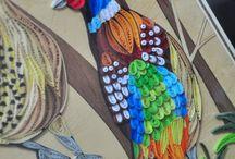 Квиллинг природа / Животные, растения, пейзажи Искусство бумагокручения, изделия из бумаги, бумажные полоски, ручная работа