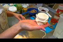 Výroba domácího sýra, másla