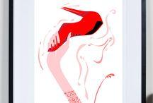 Tomek Wawer / #tomek wawer #poster #art #illustration #tomasz wawer