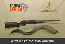 Hunting Rifles / Habitat Africa offers a wide range of hunting rifles including Bolt-Action Rifles, Semi-Automatic Rifles & Lever-Action Rifles from top rifle manufacturers