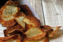 Potatoe air fired crisps