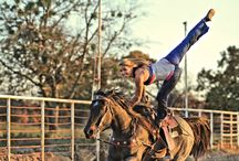 Trick riding