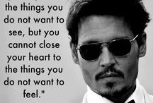 For your heart / Words by johnny depp