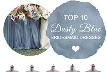 Bridesmaid Colours and Styles