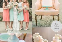 Mint & Coral & Peach wedding