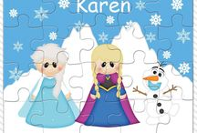 Personalized Puzzles and Chore Charts / Personalized puzzle and chore charts for kids