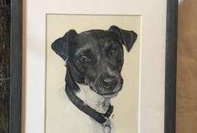 Jack Russell Terrier Art / Jack Russell Terrier Art