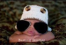 Crochet kids: hats!