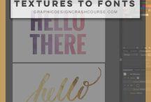 Tuts / Tutoriais para Illustrator, Photoshop, Indesign e afins.