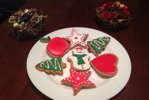 Christmas collection / Decorated ginger bread