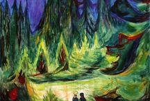 Painting. Edvard Munch